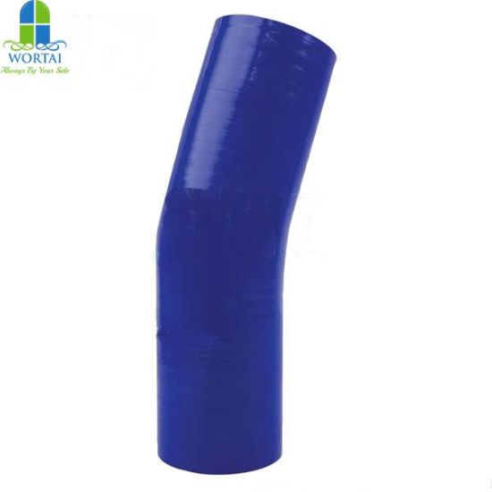Water Coolant Joiner Pipe Tube 15 Degree Silicone Elbow Hose