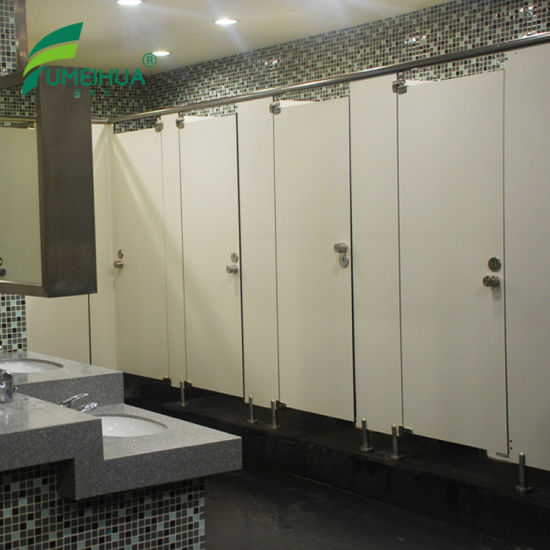 China HPL Compact Waterproof Washroom Partition With Urinal Screen Enchanting Bathroom Partition Wall Set