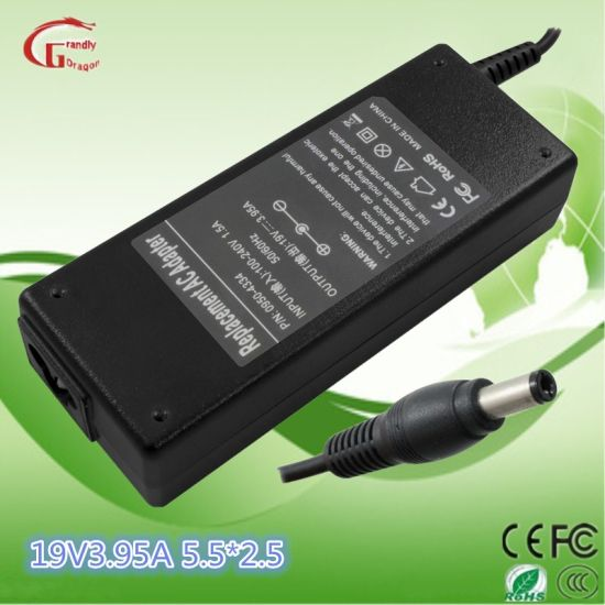 HP/Compaq /Toshiba/Liteon PC Computer 19V 3.95A Notebook Charger Power Supply