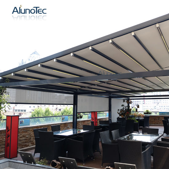 Aluminum Retractable Awnings Pergola Patio Canopy