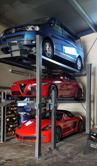 Stacker SUV Car Parking Lifts for 3 Cars