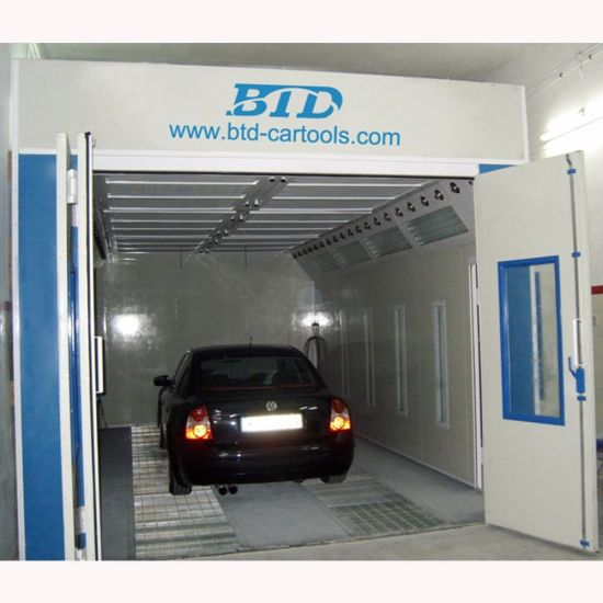 Car Infrared Heat Lamps Spray Painting Booth with CE Approved pictures & photos