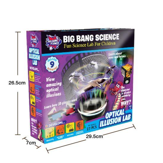 China Science Experiment Physics Optical Illusion Kit For Kids China Physics Toys And Physics Kit Price