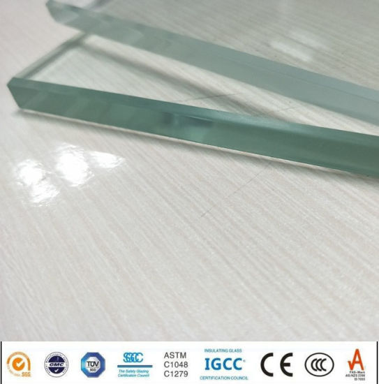 8mm Glass Solar Panel Ultra Clear Tempered Glass display Showcase Price pictures & photos