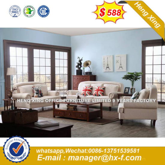 Classic Furniture Fabric Wooden Sofa (HX-SN8083) pictures & photos