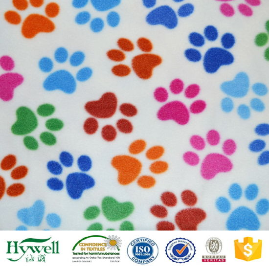 china competitive advange factory price puppy paw prints polar