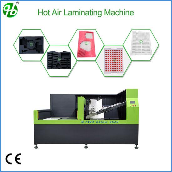 Cross Linked Polyethylene EPE Foam Hot Laminating Machine