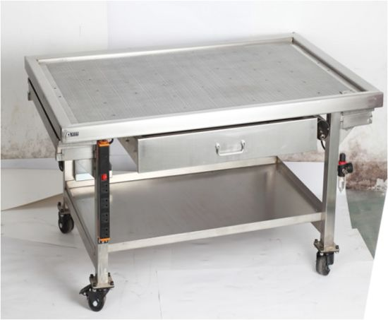 Stainless Steel Car Work Shop Repair Bench For Engine And Transmission  Teardown