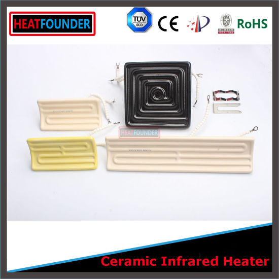 1000W 245X60mm Electric Power Source Electric Infrared Ceramic Resistence Heater pictures & photos