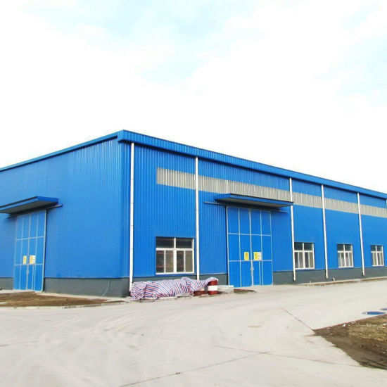 Prefabricated Steel Structure Building Workshop Warehouse Plan pictures & photos