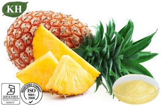 Top Quality Pineapple Extract Bromelain 400 Gdu/G-3000 Gdu/G pictures & photos