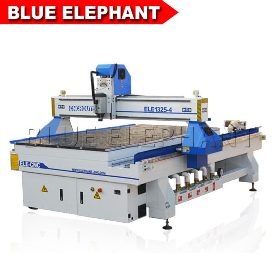 1325 Cnc Router 13002500mm Types Wood Carving Machine 4 Axis Rotary Device For Sale