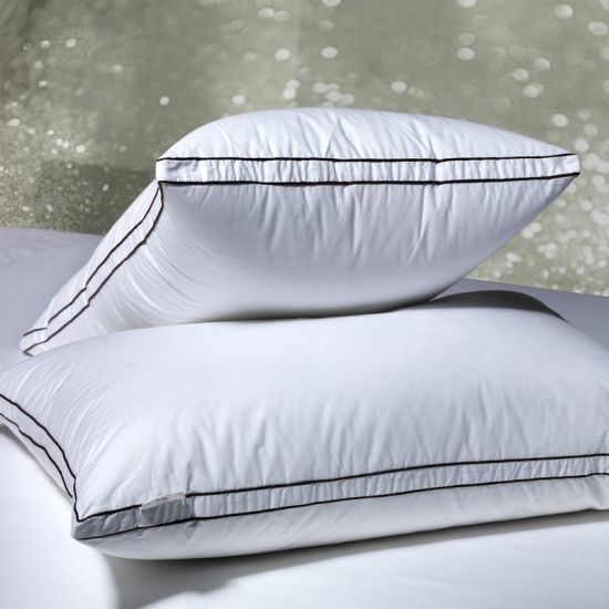 China Supplier 85% Goose Down 15% Feather Pillow pictures & photos