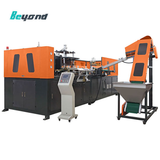 Semi-Auto Pet Bottle Blowing Moulding Machinery with Ce