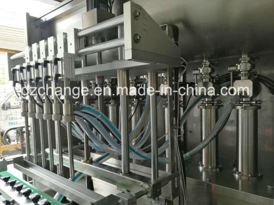 Liquid Paste Products Piston Pump Filling Machine