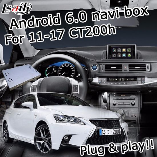 China Android 6 0 Navigation Interface Box for Lexus CT200h