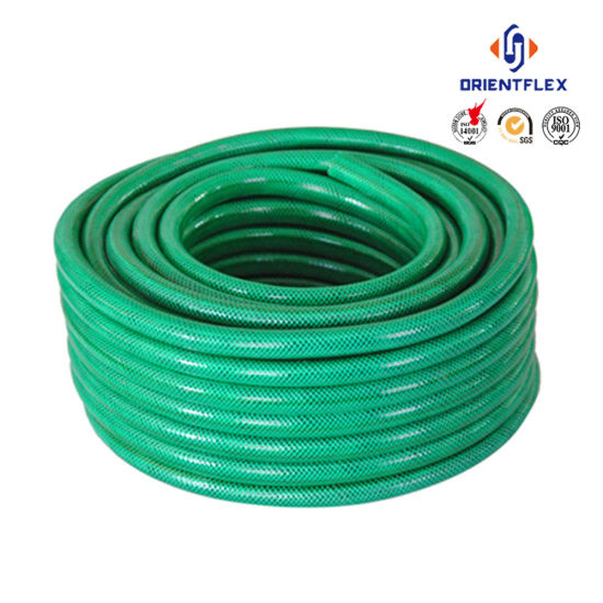 Bon Double Layer Reinforced PVC Garden Water Hose With Braided Polyester Thread