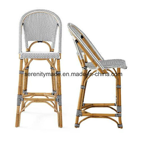 Fantastic French Bamboo Bistro Rattan Kitchen High Bar Stools Chair Download Free Architecture Designs Intelgarnamadebymaigaardcom