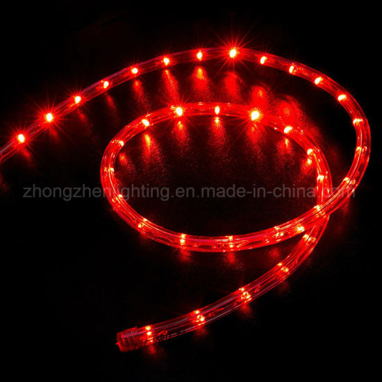 full color thin rope light outdoor christmas decorations rope lights