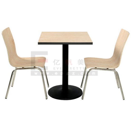 Modern Restaurant Furniture 2 Person Dining Table And Chair
