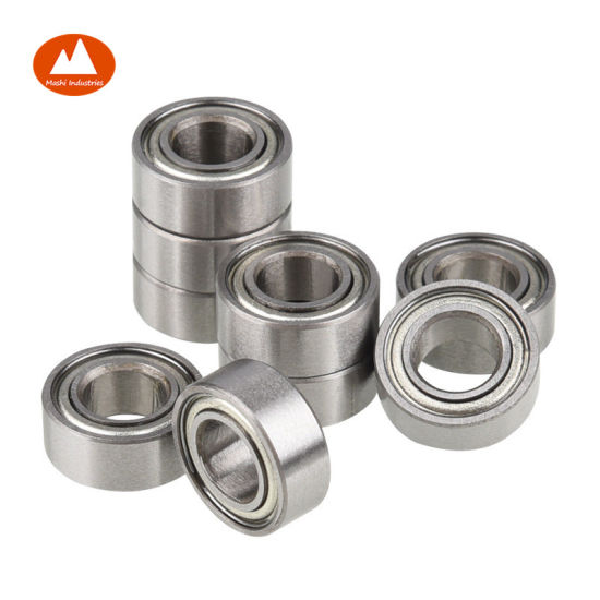 Miniature Ball Bearing MR128-ZZ With 2 Metal Shields 8x12x3.5mm
