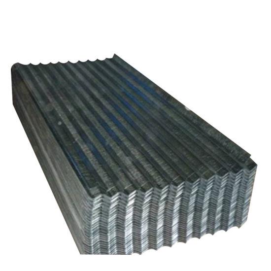Zinc Coated Metal Sheet Corrugated Galvanized Steel Roofing
