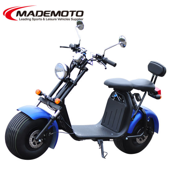 High Quality Iharleyi Electric Motorcycle 800W 1000W 1500W 60V 20ah Citycoco pictures & photos