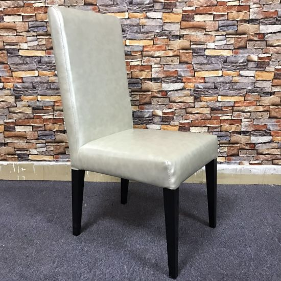 Morden Home Furniture Upholstery PU Leather Dining Chair China Supplier for Wholesale