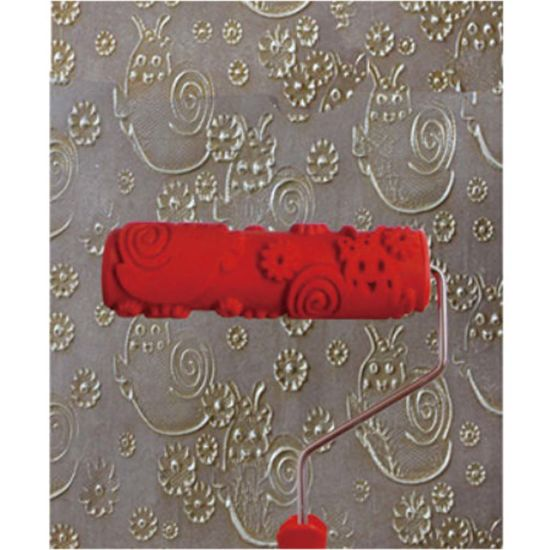 China New Design Wall Art Texture Decorative Pattern Paint Roller