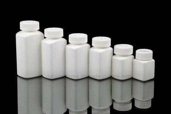 Bottle Packaging HDPE Medicine Plastic Bottle with Plastic Cap