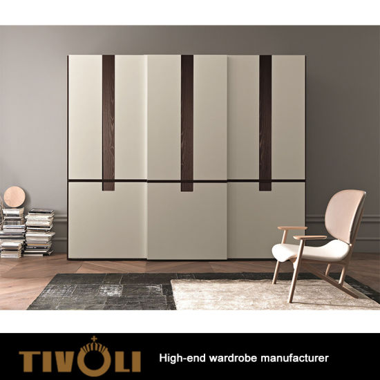 Superieur Fashion Design Wooden Walk In Closet Clothes Storage Wardrobe With Plywood  Carcass In Good Quality TV 0329