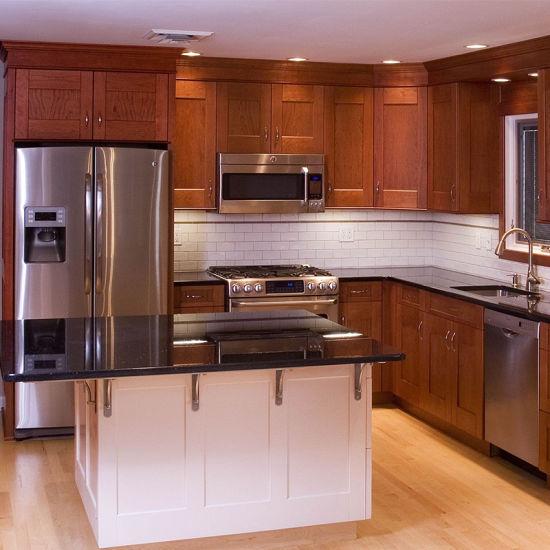 Espresso Shaker Cheap Kitchen Cabinets for Sale