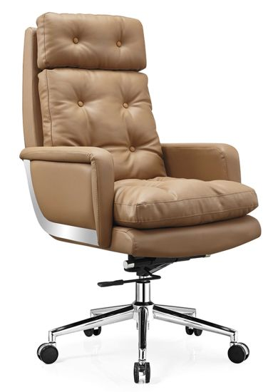 High Quality Leather Recliner Chair Ergonomic Office Chair New Design Boss Manager Chair pictures & photos