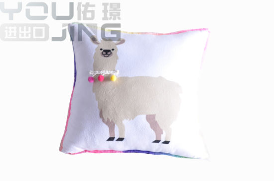 Stuffed Animal Colorful Fabric Sheep Plush Pillow Toy pictures & photos