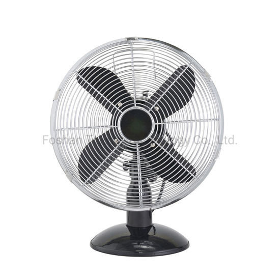 Good Price 10 Inch Retro Table Fan & 12 Inch Table Retro Fan & 16 Inch Retro Fan Metal Chrome Fan