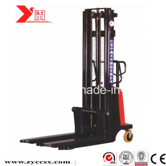 Hydraulic Semi Electric Stacker 1 Ton 3 Meters