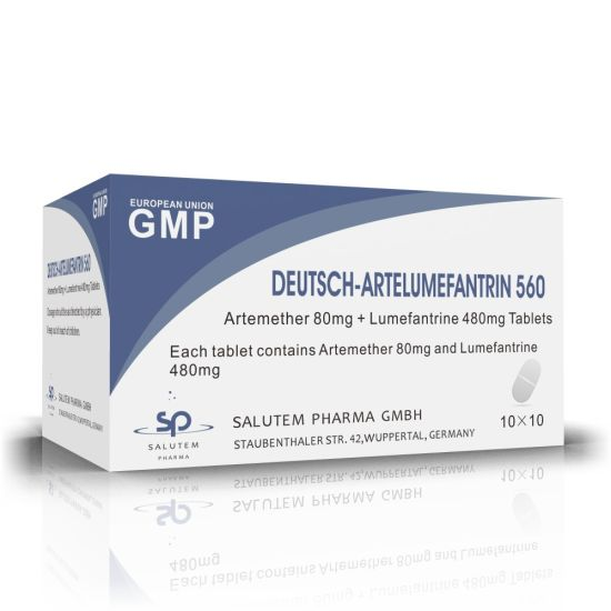 Competitive Contract Manufacturing Artemether 80mg+Lumefantrine 480mg Tablets