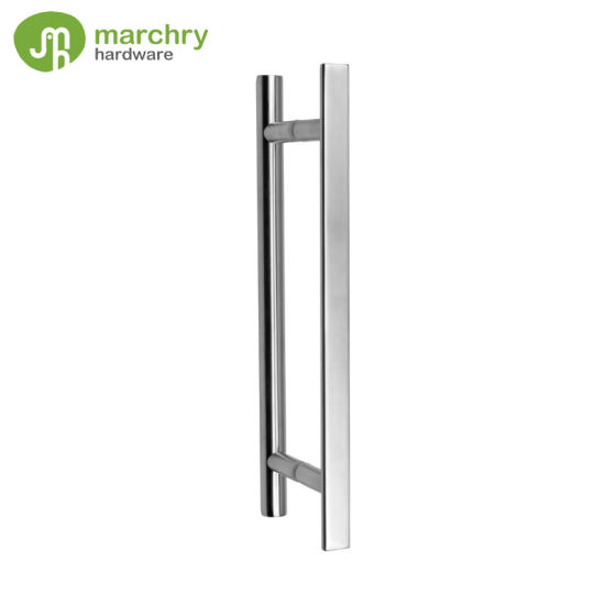 China Stainless Steel Commercial Glass Door Handles China Glass
