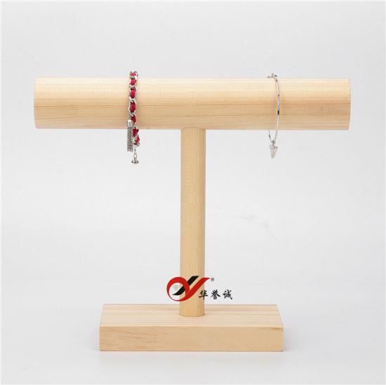 Diy Wood Display T Bar Watch Bracelet Jewelry Stand Holder