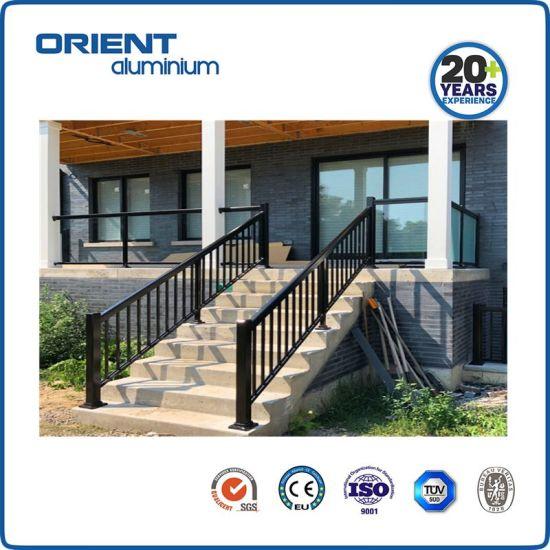Best Selling Popular Black/White Aluminium Handrail for Houses