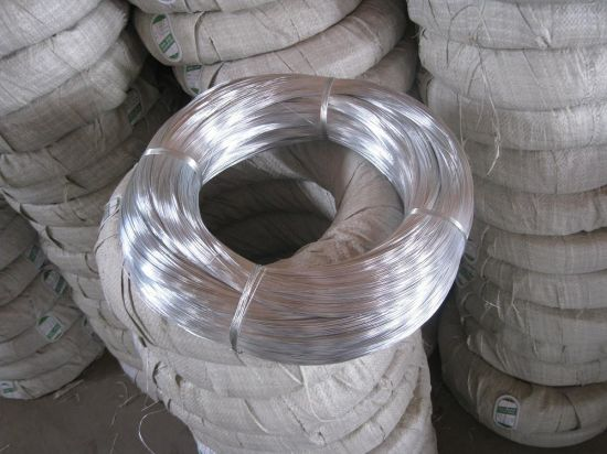 China Bwg22 * 5kg/Coil Galvanized Iron Wire / Gi Binding Wire for