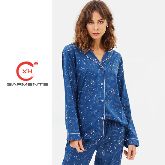 China Xh Garments Happy Weekend Woman Sleepwear - China Woman ... 4c85c1014