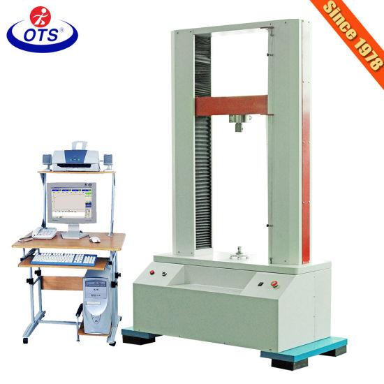 ASTM D903 Universal Material Tensile Testing Machine for Plastic Metal Packging