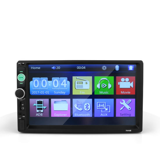 7.0 Inch Touch Screen MP5 2 DIN Car DVD Player with Mirror Link for Android System Car DVD in Car Video
