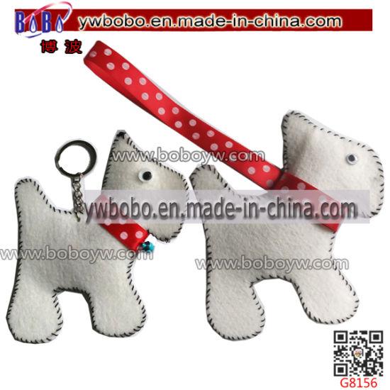 Export Agent Yiwu Agent High Quality Wholesale Keychain Felt Craft Textile (G8156)