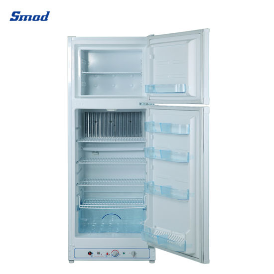 Double Door Propane Gas Powered Absorption Refrigerator