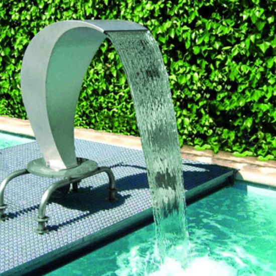 China Modern Design Outdoor Pool Shower Waterfall Fountains China