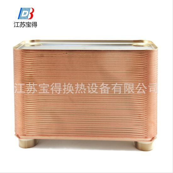 Stainless Steel 316 Plates Copper Brazed Plate Heat Exchanger for Cooler Condenser pictures & photos