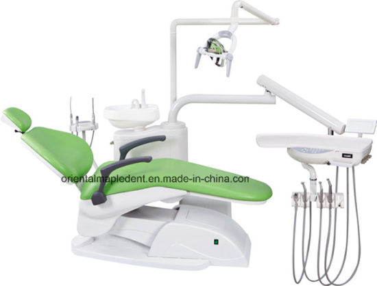 Dental Chair Unit with Operating LED Lamp