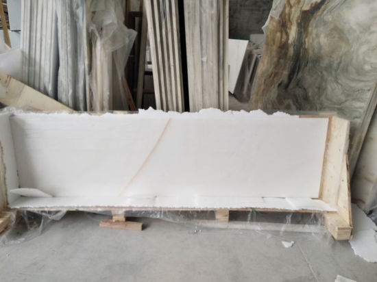 Chiva Pure White/Black/Beige/Beige Marble Slab/Tile/Countertop for House/Hotel/Apartment pictures & photos
